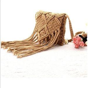 Handbags - 🌼BOHO🌼 NEW FRINGE CROSS BODY BAG